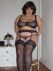 dicke Hausfrau aus Augsburg